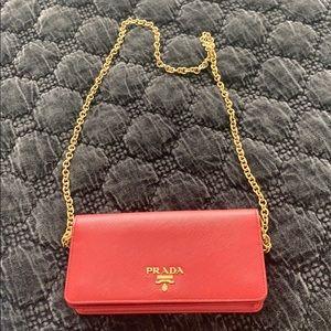 Red Prada bag!